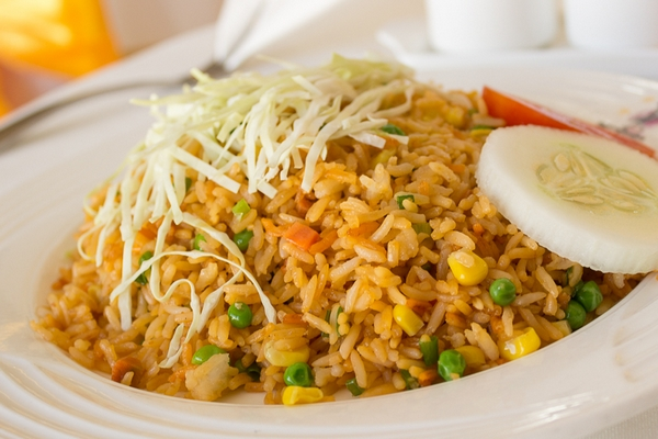 Fried rice restaurant style new thriving restaurant a quick fried rice like you get at your favorite chinese restaurant a couple of eggs baby carrots peas and soy sauce is all you need forumfinder Images