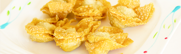 Crispy Wanton – Dish of the day! Monday June 1, 2015