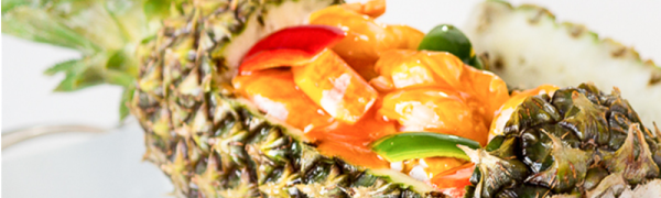 Mixed Seafood in Pineapple  – Dish of the day! Monday May 18, 2015