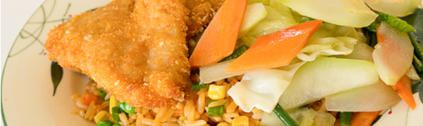 Deep Fried Chicken Fried Rice or Chowmein – Dish of the day! Tuesday May 19, 2015