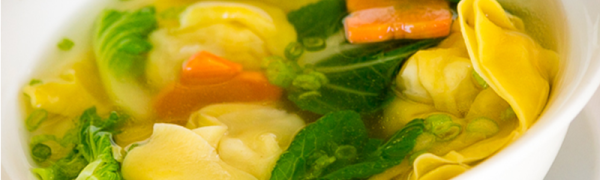 Wanton Soup -Dish of the day! Wednesday June 3, 2015