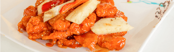 Sweet & Sour Chicken -Dish of the day! Friday June 5, 2015