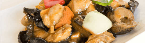 Stewed Chicken with Mushroom-Dish of the day! Saturday June 6, 2015